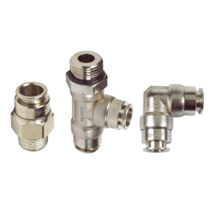 Push-in Fittings – Nickel Plated Brass