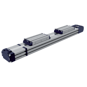 Double Carriage Rectangular Profile – EDF Series