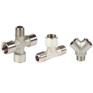 Metal Pipe Fittings – Nickel Plated Brass